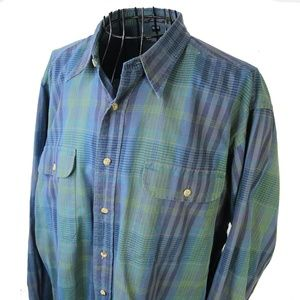 Vintage Christian Dior Casual Button Down Shirt